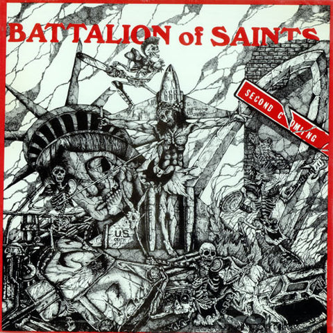 "Battalion of Saints ""Second Coming"" LP - Dead Tank Records"