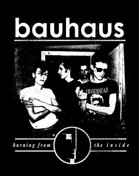 "Bauhaus ""Burning From the Inside"" - Shirt"