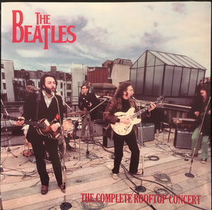 "Beatles, The ""Complete Rooftop Concert"" (blue vinyl) LP"