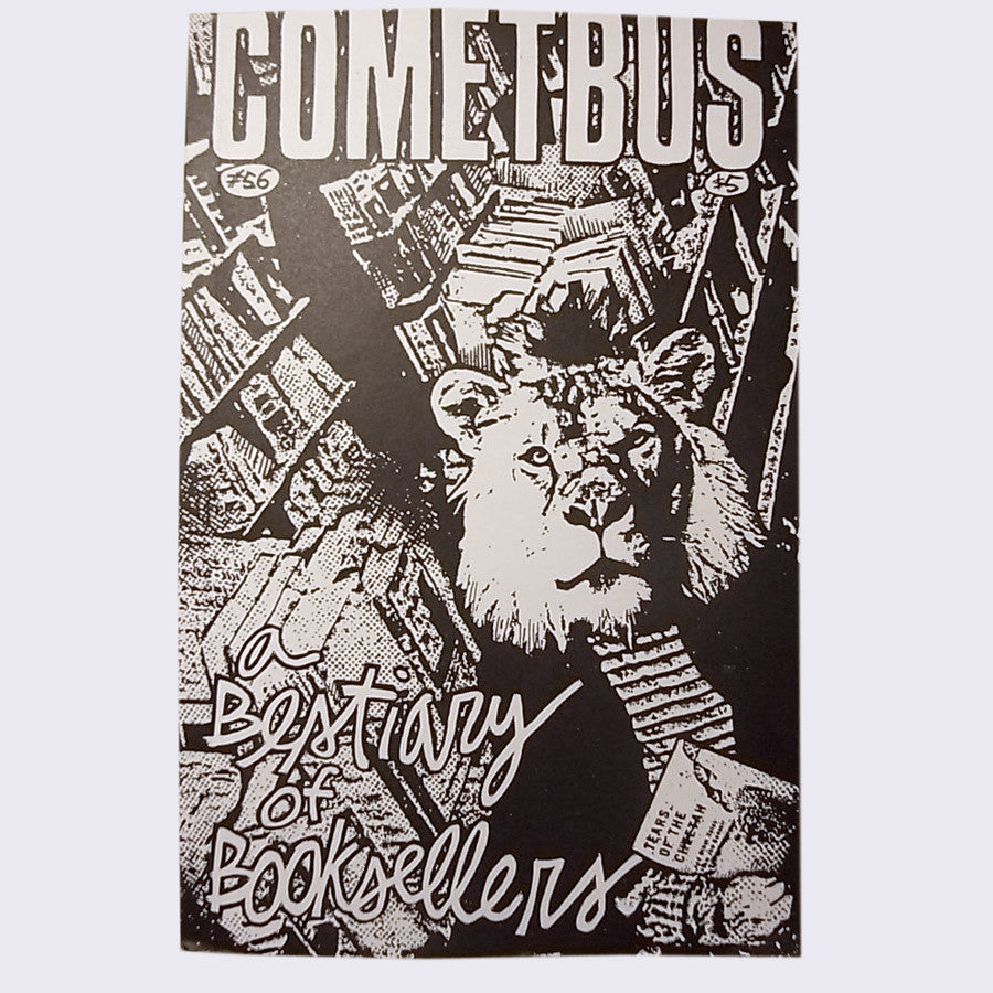 "Cometbus #56 ""A Bestiary of Booksellers"" Zine - Dead Tank Records"