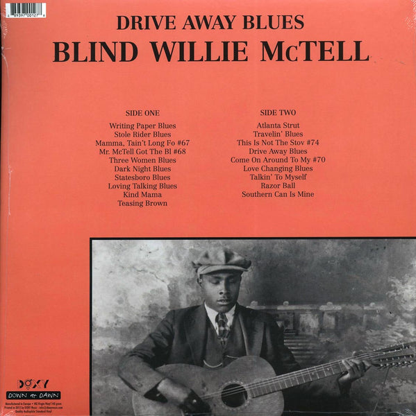 "Blind Willie McTell ""Drive Away Blues"" LP"