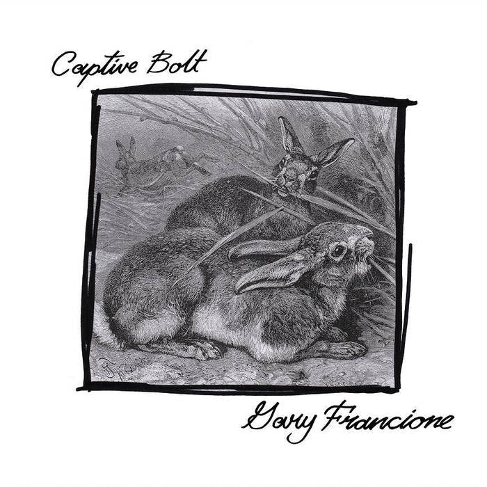 "Captive Bolt / Gary Francione - split 7"" - Dead Tank Records"