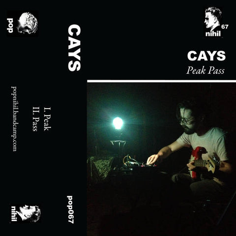 "Cays ""Peak Pass"" Tape - Dead Tank Records"