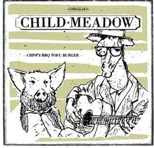 "Child Meadow ‎""Crispy BBQ Tofu Burger"" LP"