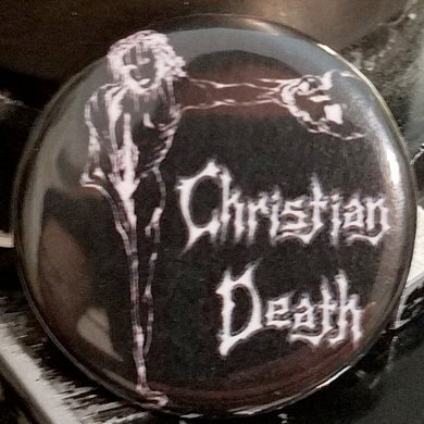 "Christian Death - 1.25"" Button"