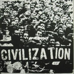 "Civilization ""s/t"" LP - Dead Tank Records"