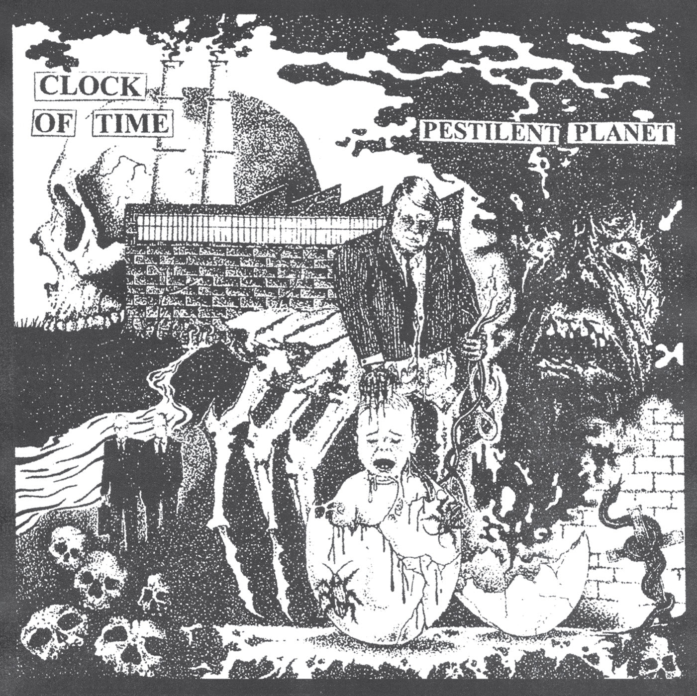 "Clock of Time ""Pestilent Planet"" LP"