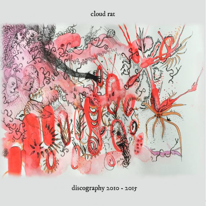 "Cloud Rat ""Discography 2010-2015"" 2xCD - Dead Tank Records"