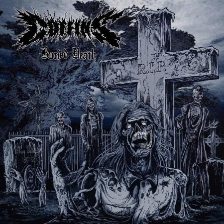 "Coffins ""Buried Death"" LP - Dead Tank Records"