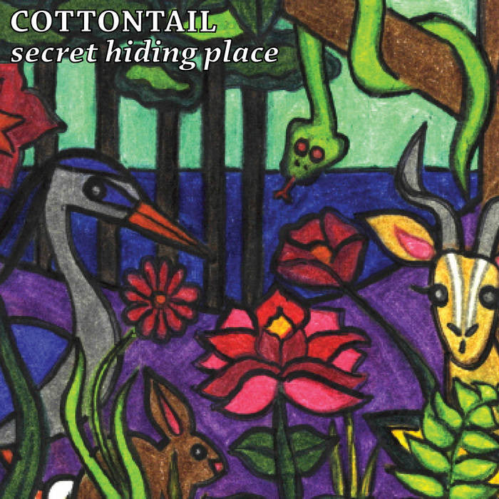 "Cottontail ""Secret Hiding Places"" Tape"