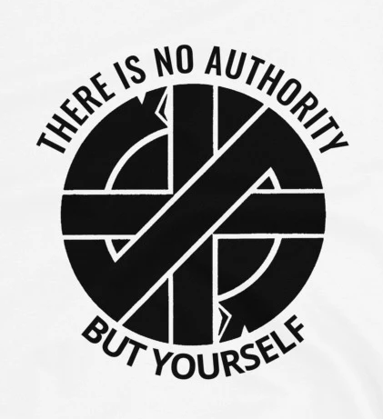Crass - No Authority - Shirt