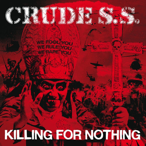 "Crude SS ""Killing For Nothing"" LP - Dead Tank Records"