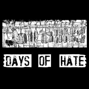 Days of Hate / Anal Butt split 7""