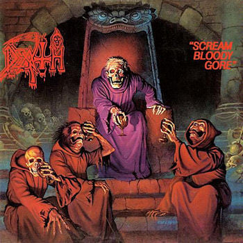 "Death ""Scream Bloody Gore"" LP - Dead Tank Records - 1"