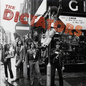 "Dictators, The ""Live At CBGB In New York City 11 May 1977"" LP"