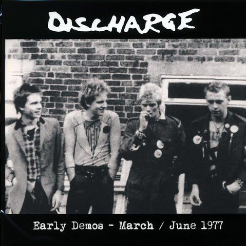 "Discharge ""Early Demos: March/June 1977"" LP"