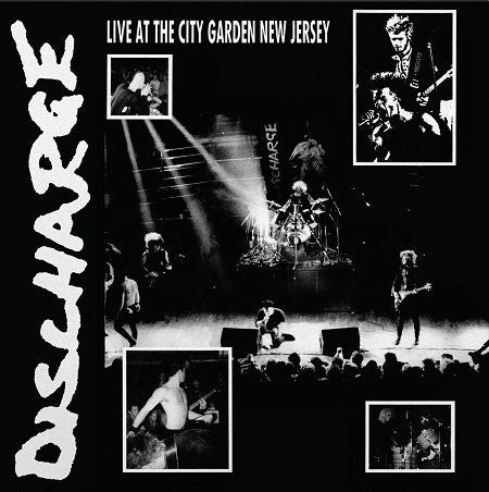 "Discharge ""Live at The City Garden New Jersey"" LP - Dead Tank Records"