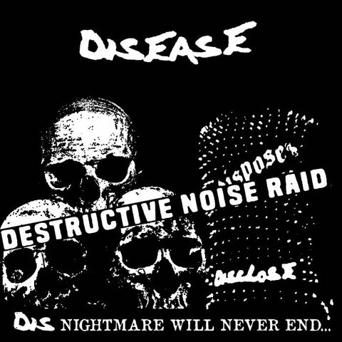 "Disease ""Destructive Noise Raid"" 7"""
