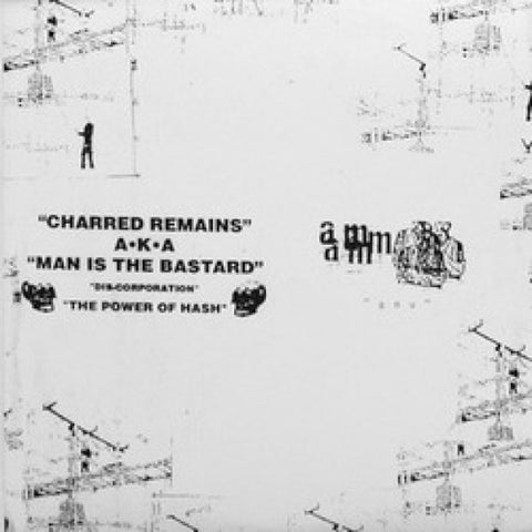 "Man is The Bastard / Aunt Mary split 10"" - Dead Tank Records"