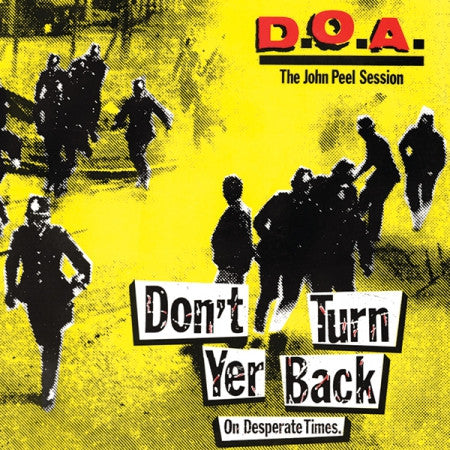 "DOA ""Don't Turn Your Back"" LP - Dead Tank Records"
