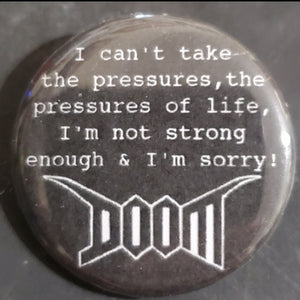 "Doom - 1.25"" Button"