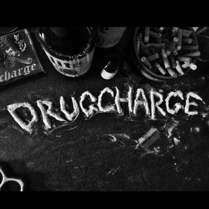 "Drugcharge ""s/t"" Flexi 7"" - Dead Tank Records"
