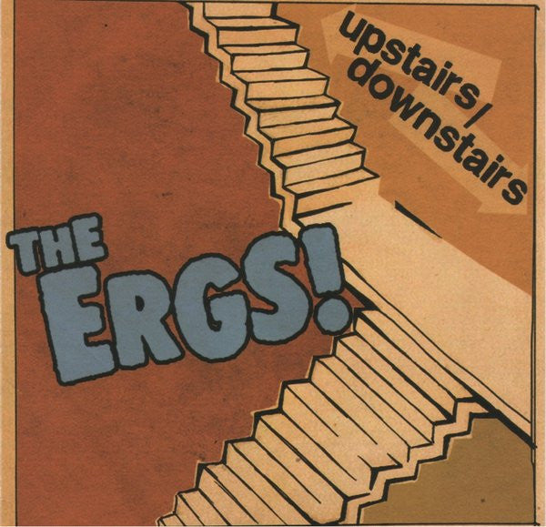 "Ergs, The ""Upstairs/Downstairs"" CD - Dead Tank Records"