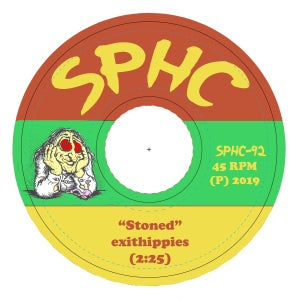 "Exit Hippies ""Stoned / Stoned Agin"" 7"""