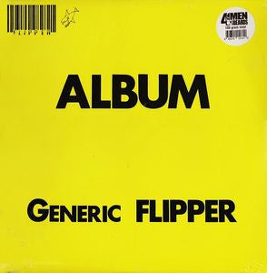 "Flipper ""Generic Album Flipper"" LP - Dead Tank Records"
