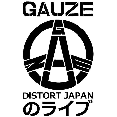 "Gauze ""Distort Japan"" - (Short and Long Sleeve) Shirt"