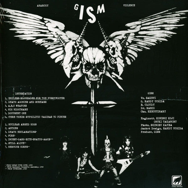 "Gism ""Detestation"" Gatefold LP"