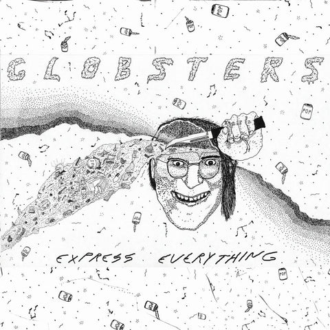 "Globsters ""Express Everything"" LP"