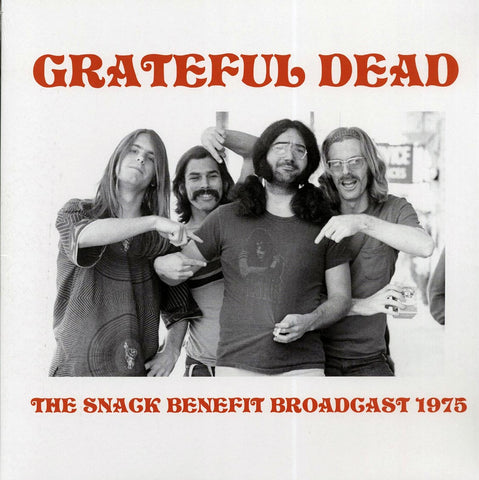 "Grateful Dead ""The Snack Benefit Broadcast 1975"" LP"
