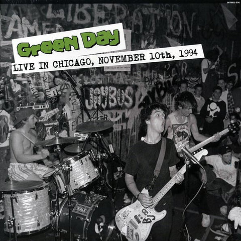 "Green Day ""Live In Chicago, November 10th 1994"" LP"