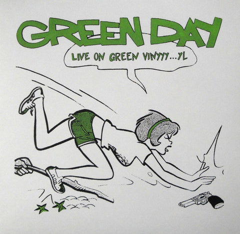 "Green Day ""Live on Green Vinyl"" LP"
