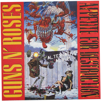 "Guns N' Roses ""Appetite For Destruction Alternative Album"" (white vinyl) LP"