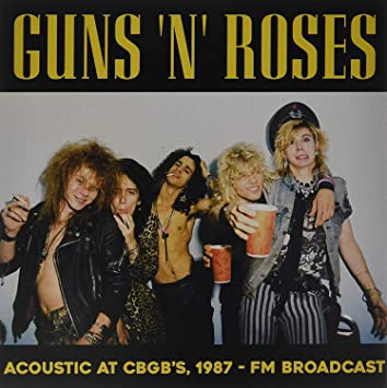 "Guns n Roses ""Acoustic at CBCG's, 1987"" LP"