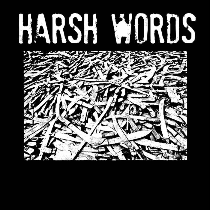 "Harsh Words ""Plague Days"" 7"" - Dead Tank Records"
