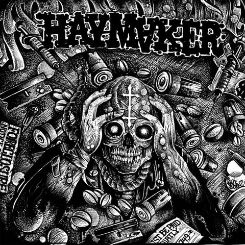 "Haymaker ""Taxed... Tracked... Inoculated... Enslaved!"" LP"