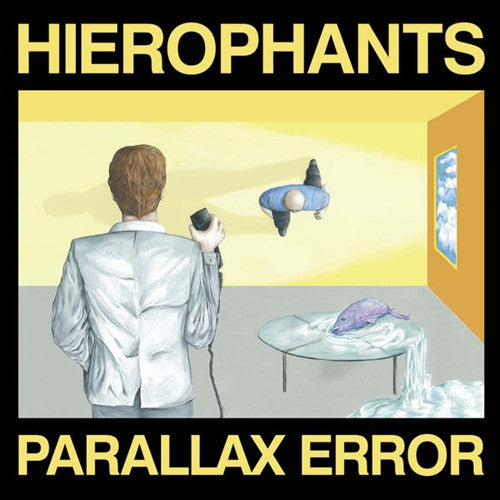 "Hierophants ""Parallax Error"" LP - Dead Tank Records"