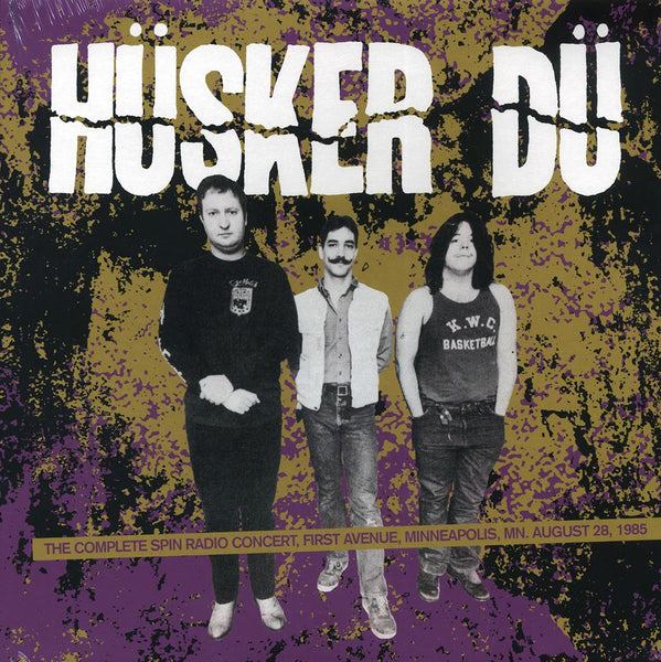 "Husker Du ""Spin Radio Concert, Minneapolis, MN, August 28, 1985"" LP"