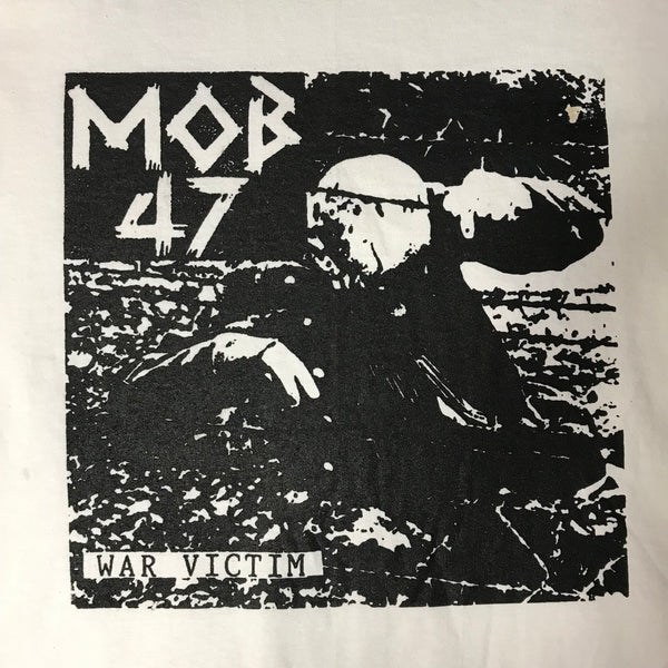 "Mob 47 ""War Victim"" - (Short and Long Sleeve) Tote / Shirt"