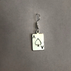 Ace of Spades - Earring