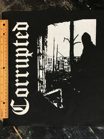 Corrupted - Back Patch