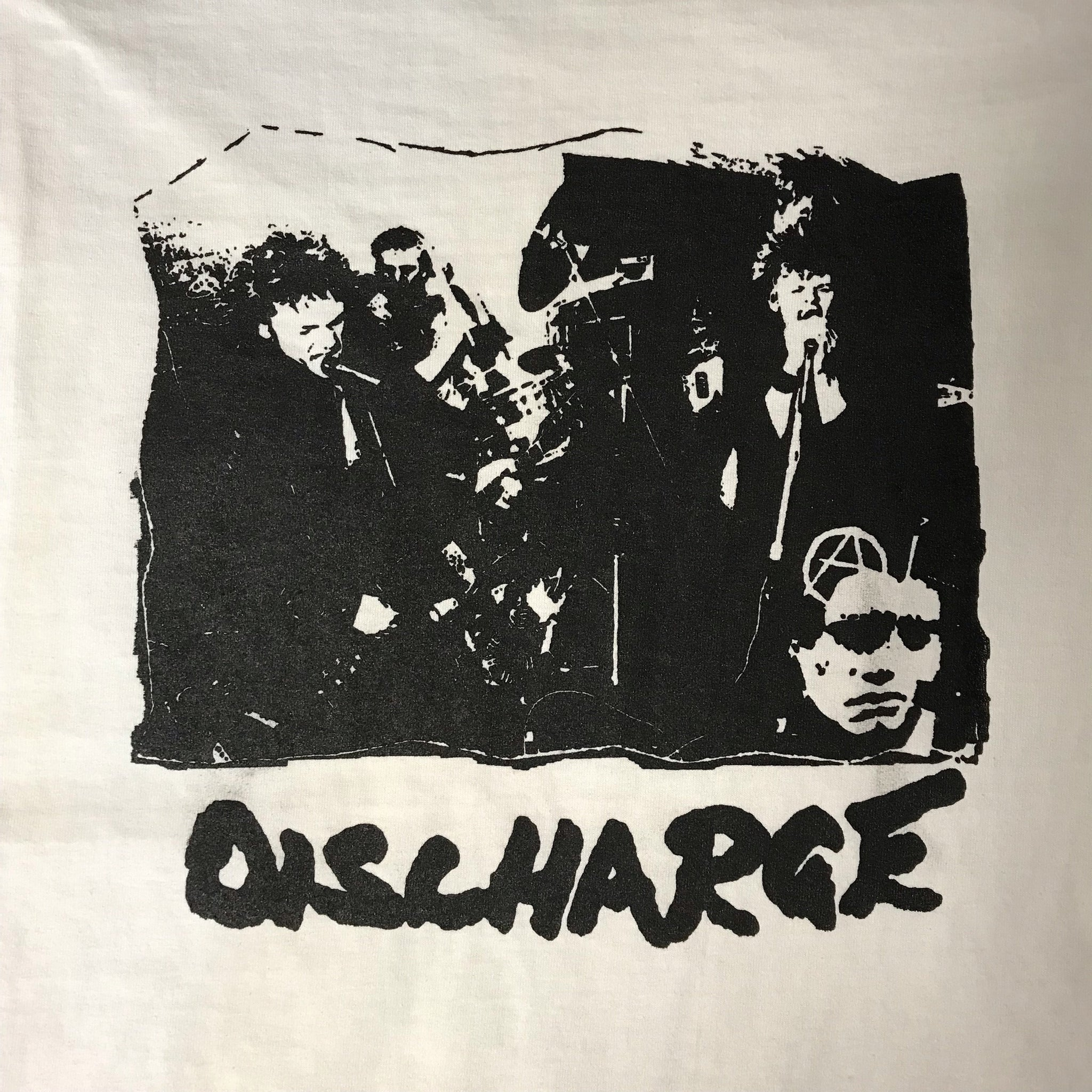 "Discharge ""Live"" (Short and Long Sleeve) - Shirt"