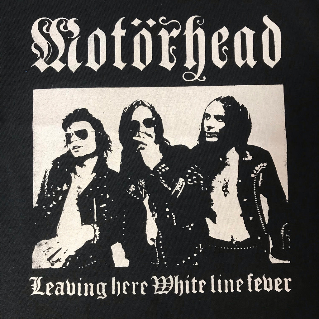 "Motorhead ""White Line Fever"" - Back-patch / Shirt"