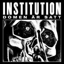 "Institution ""Domen Ar Satt"" LP - Dead Tank Records"