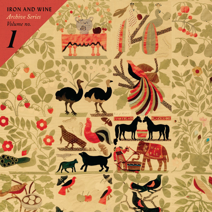 "Iron and Wine ""Archive Series Vol 1"" 2xLP - Dead Tank Records"