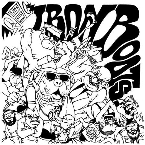 "Iron Boots ""Complete Discography"" LP - Dead Tank Records"