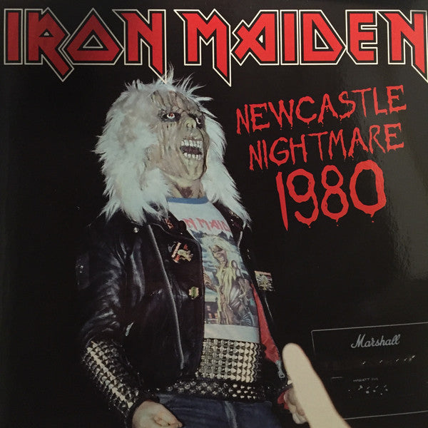 "Iron Maiden ‎""Newcastle Nightmare 1980"" (color vinyl) 2xLP"